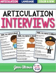articulation interviews