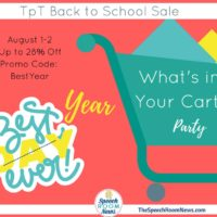 What's in Your Cart {Back to School Sale 2016}